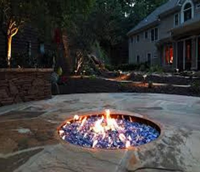 fire and water bowls for pools