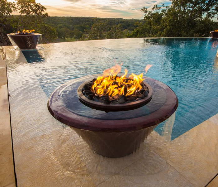 fire water bowl pool