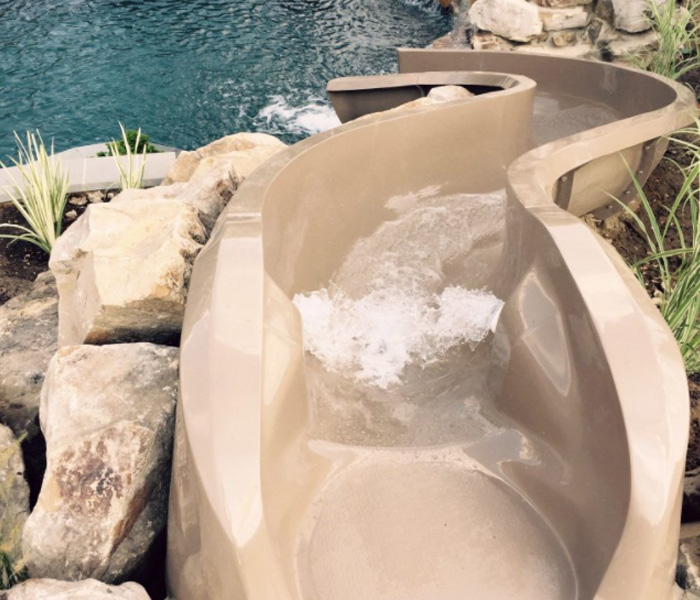 home pools with waterfalls