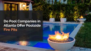 poolside fire pits