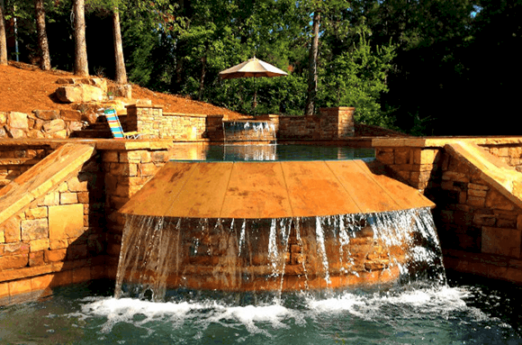 Sandal Luxury Waterfall